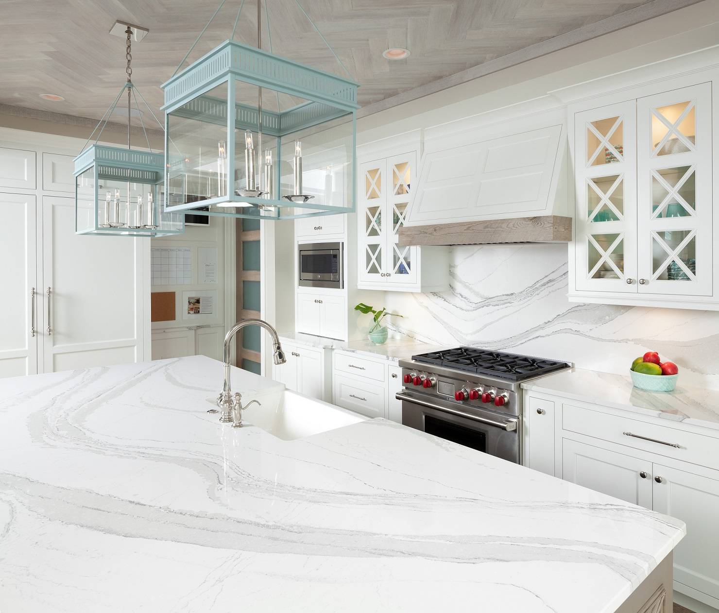 Cambria White Kitchen