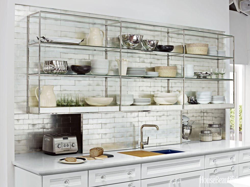 10 kitchen design trends to look out for in 2017 for Shelving in kitchen