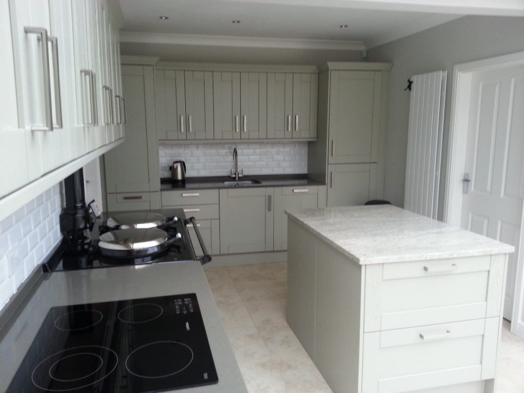 Kitchen Worktops Replaced By Quartz