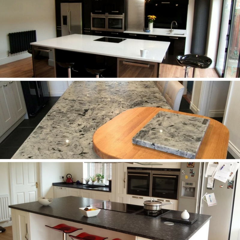 Breakfast Bars fitted by Cheshire Granite Worktops