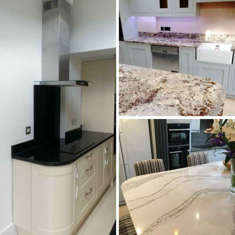 Curved Corners by Cheshire Granite Worktops