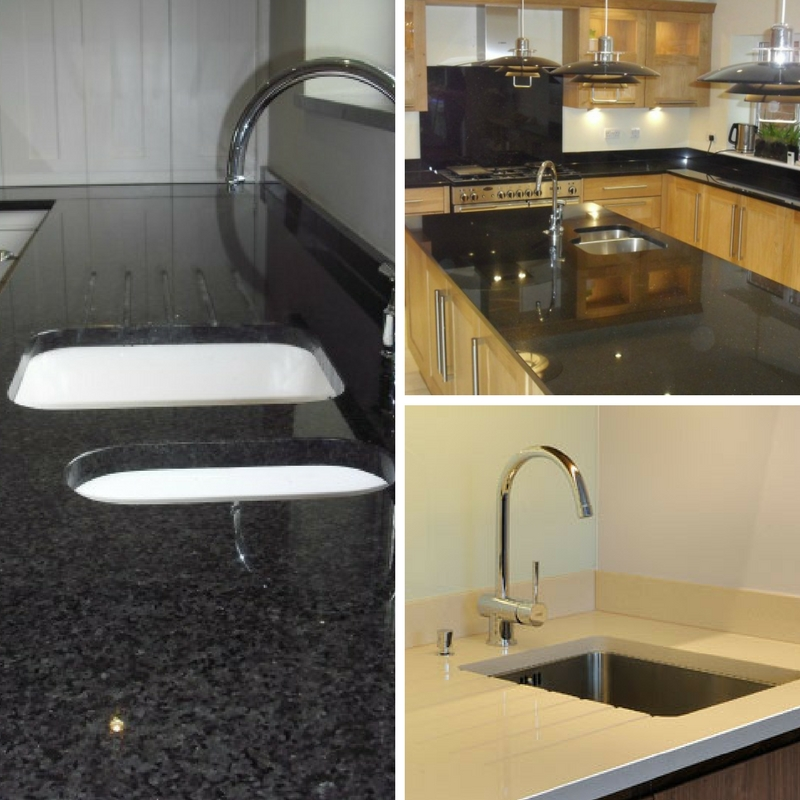Undermount sinks fitted by Cheshire Granite Worktops