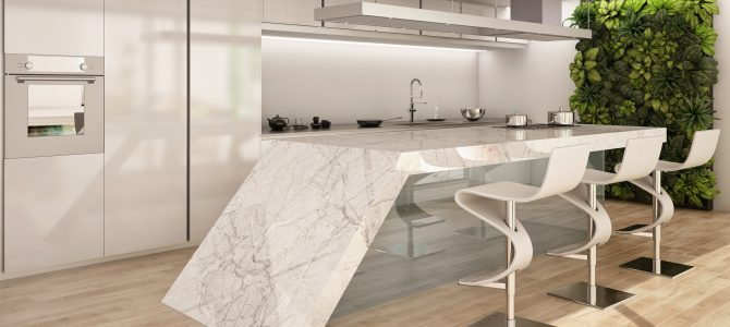 Wow-factor kitchen worktops