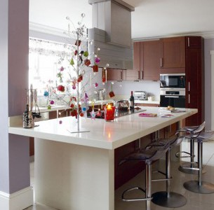 Create the ultimate Christmas kitchen and choose granite and quartz worktops