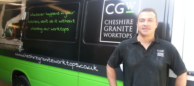 Cheshire Granite Worktops. Cheshire's new breed of entrepeneurial business
