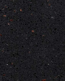 Ferio Black Samsung Quartz Worktop