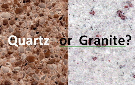 Quartz or granite worktop? Which is the look for your kitchen?