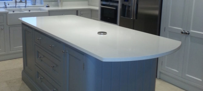 Kitchen worktops come in all shapes and sizes
