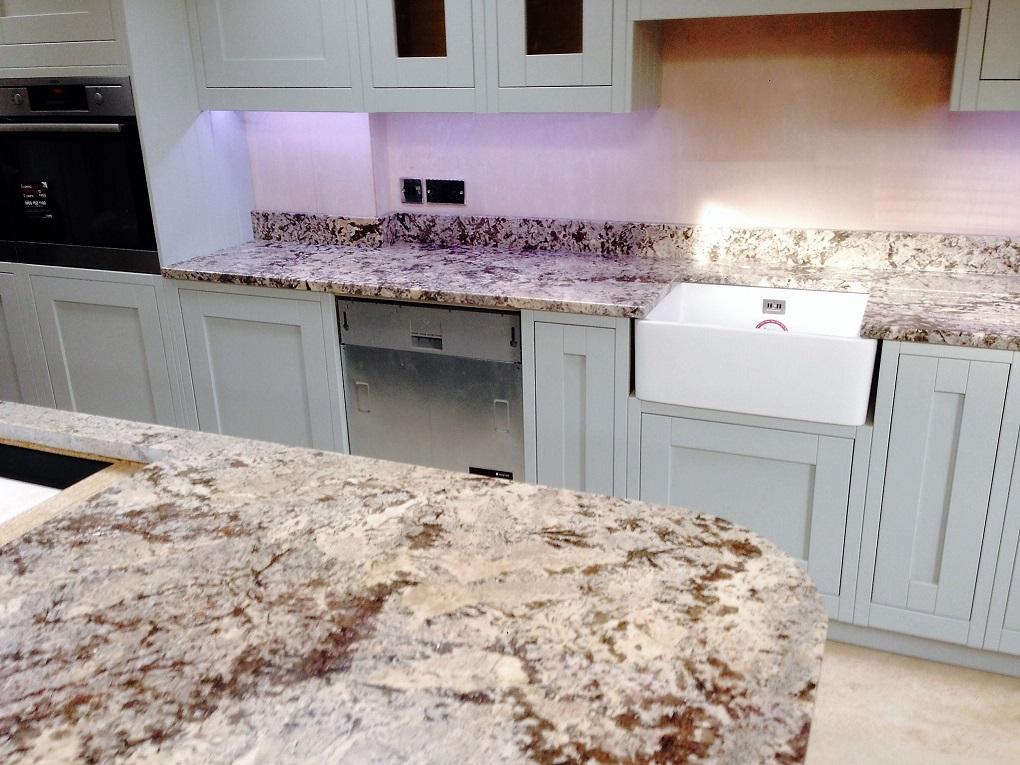 Bianco Antico Granite Worktop