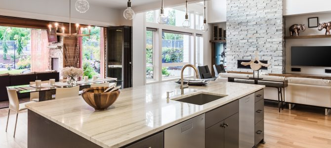 Gorgeous Granite Kitchen Worktops